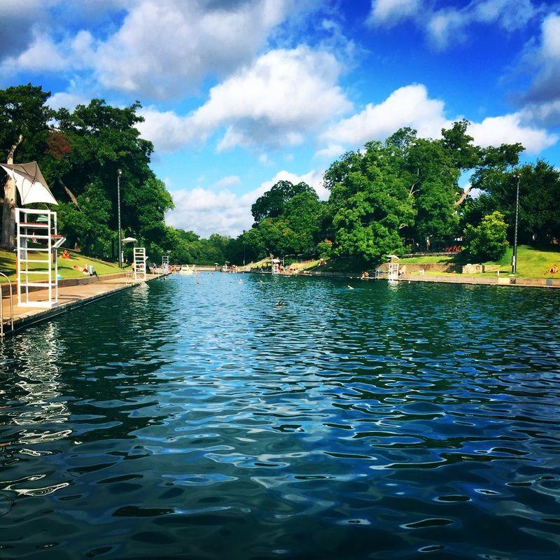 Barton Natural Springs Pool Austin Texas | Travel