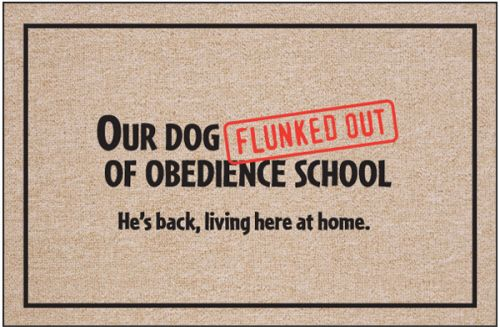 Dog Welcome Mats | Funny Pet Entry Mats | Dog Doormats | Home Door Mat