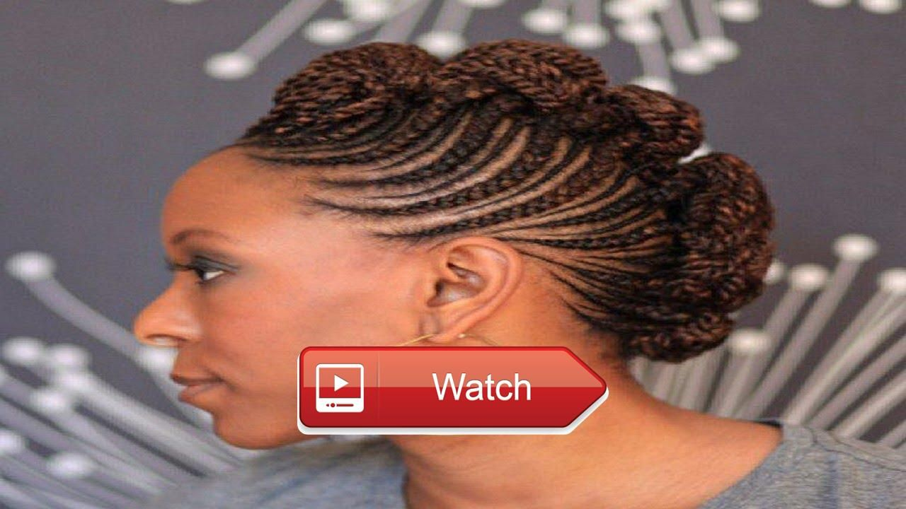 Awesomestunning braided mohawk hairstyles black women