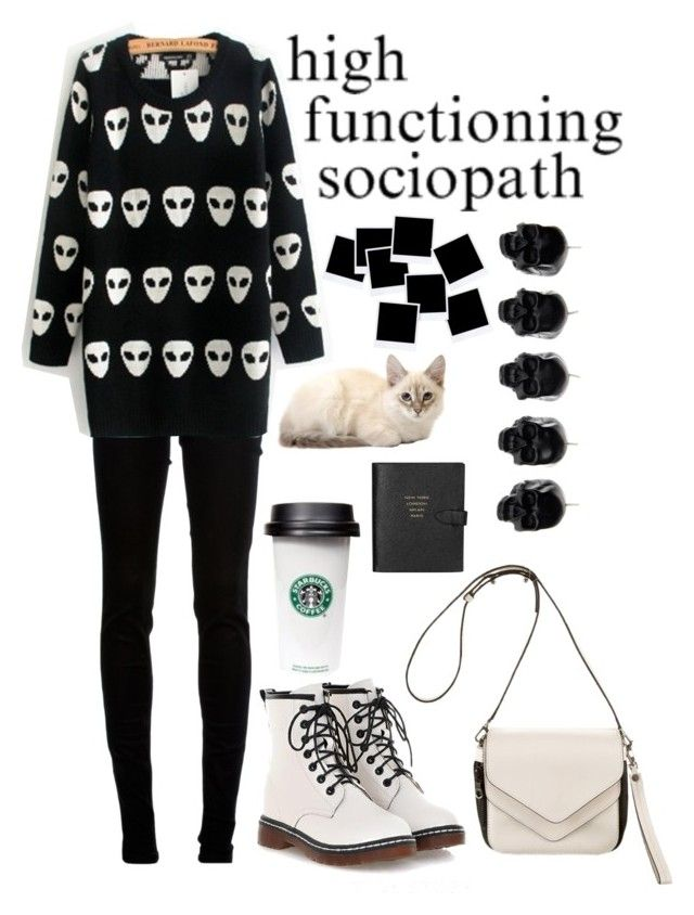"""""""brb currently obsessing over sherlock"""" by fruitysmacks ❤ liked on Polyvore featuring dVb Victoria Beckham, Boyy, D.L. & Co. and Smythson"""