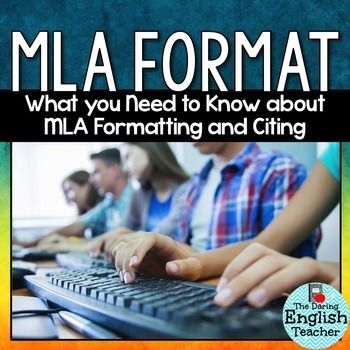 how to write in mla format