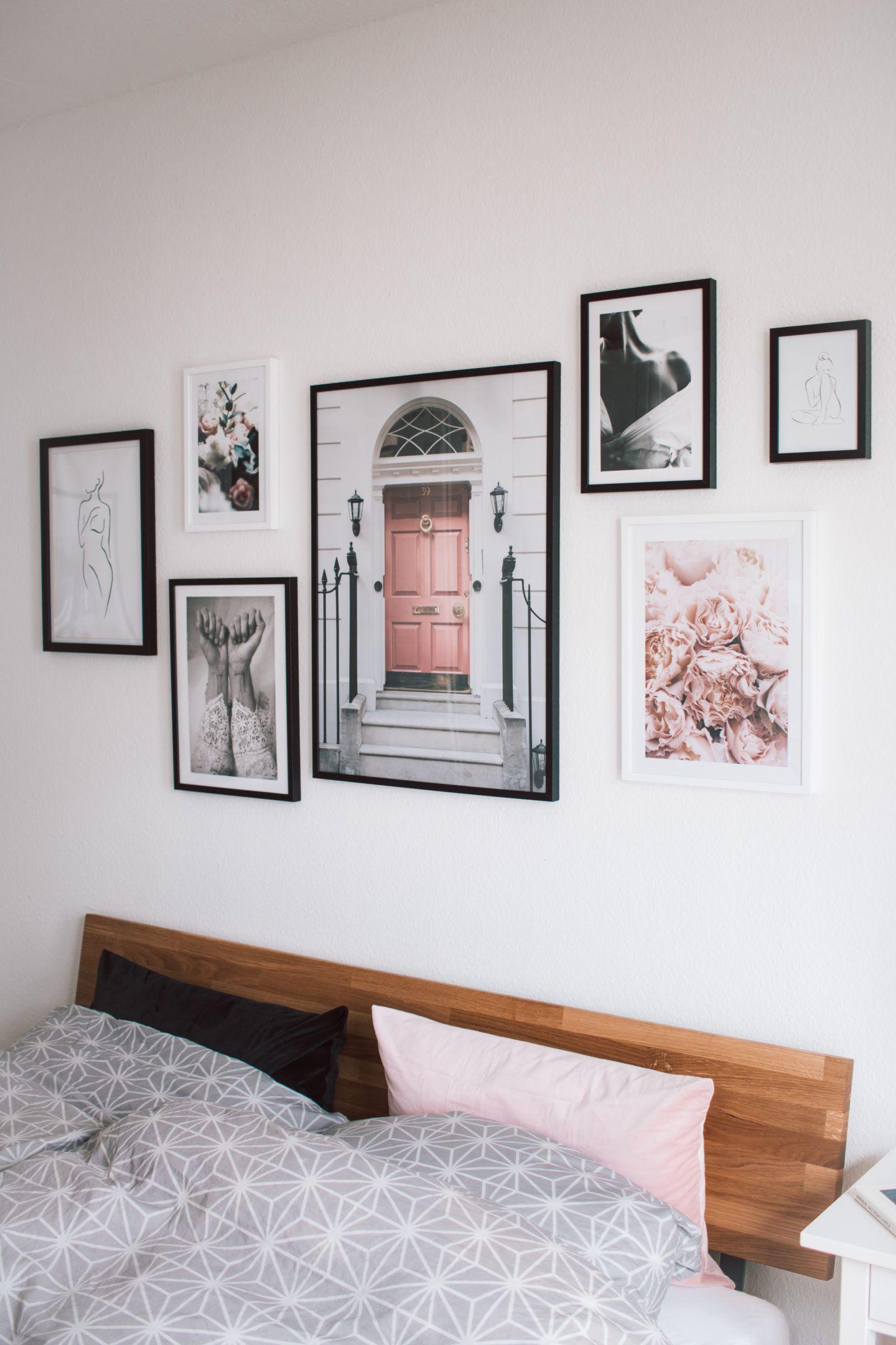 3 Tipps für deine Posterwand - Deko-Update mit Bildern von Desenio #deseniobilderwand