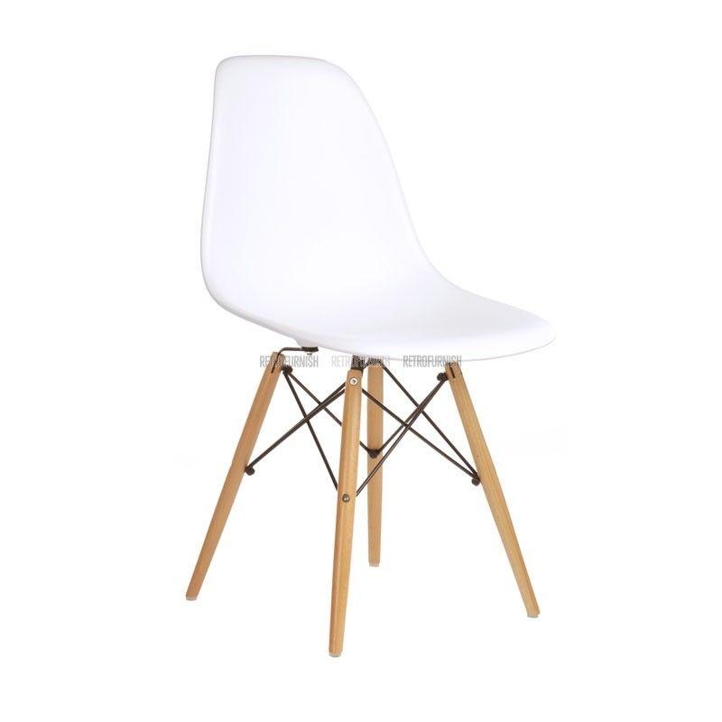 Dsw kuipstoel cheap dar replica kuipstoel wit verchroomd for Replica design meubelen
