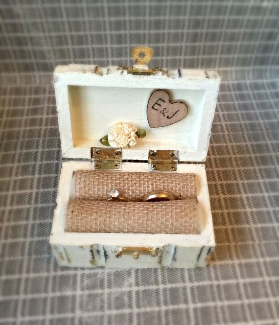 Image Result For Wedding Diy Heart Path Ring BoxRustic