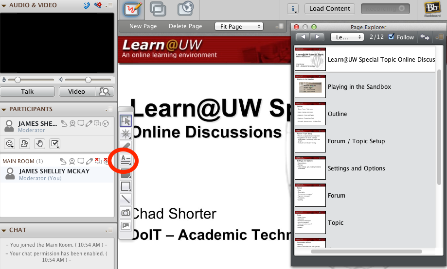 How To Set Up Blackboard Collaborate For Online Office Hours