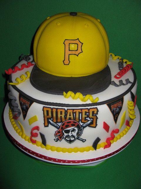 Google Image Result For Http Webzoom Freewebs Com Thehouseofcakes Photos Fondant Tiered Cakes Img 2934 Pittsburgh Pirates Baseball Baseball Cake Pirate Cake