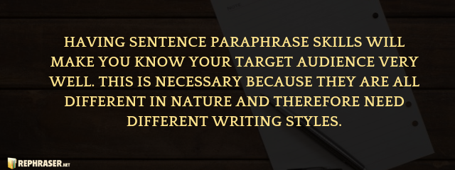 How To Rephrase A Sentence Different Writing Style Styles Humanity I Love You Paraphrase