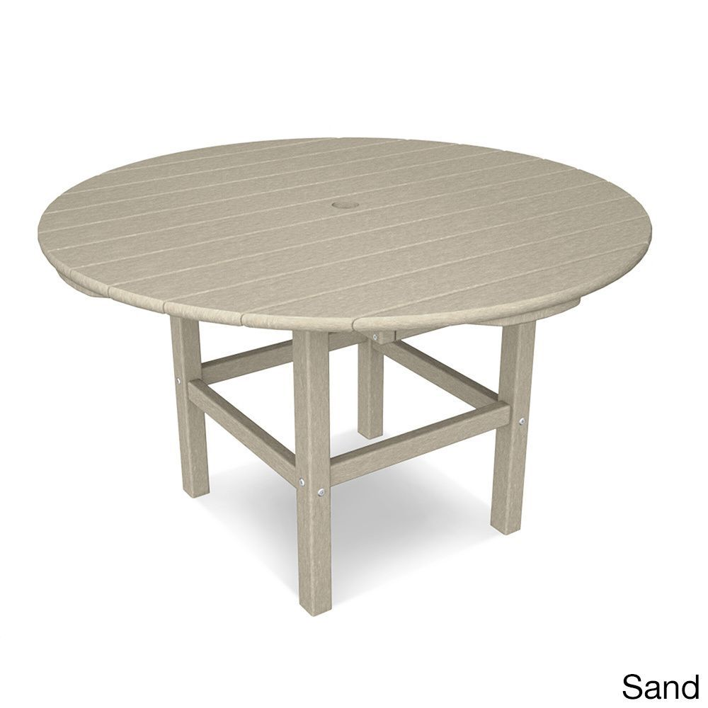 Polywood Kids 38 Dining Table Dining Table Round Wooden