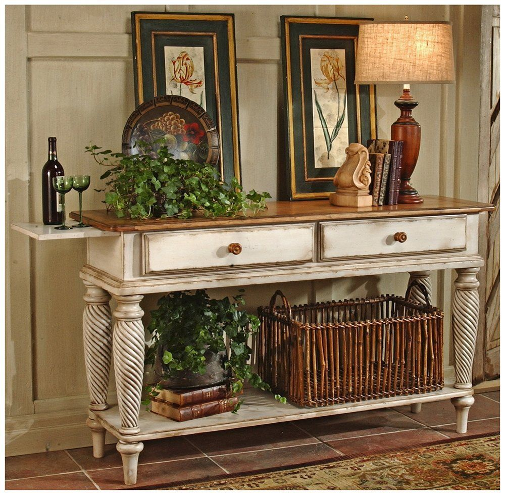 Wilshire Sideboard Table Antique White