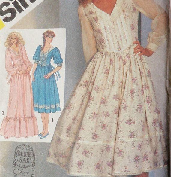 Love vintage gunny sax dresses! - shabby chic - Pinterest ...