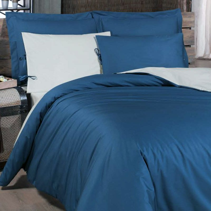 Xxl Bettwasche Balance Blau Spezial Fur Boxspringbetten 10