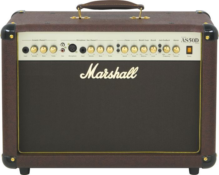 Marshall As50d 50w 2x8 Acoustic Guitar Combo Amp Via Musician S Friend Guitar Amps For Sale Acoustic Guitar Marshall