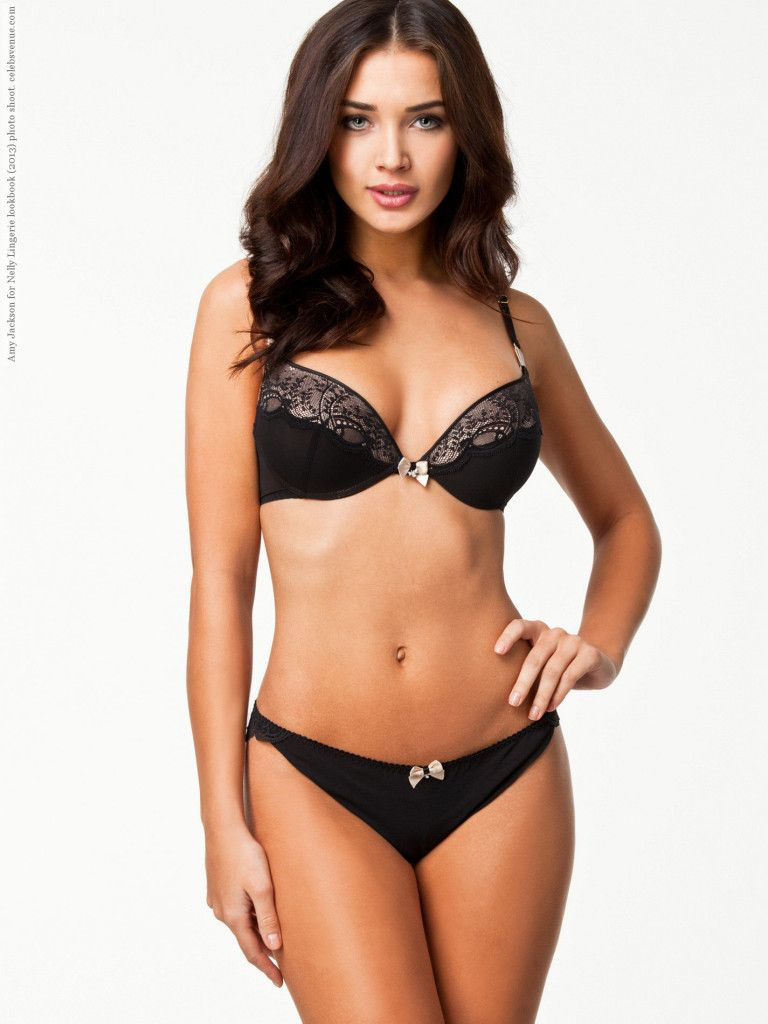 37d317a8c23e4 Amy Jackson for Nelly Lingerie lookbook (2013) photo shoot | Black ...