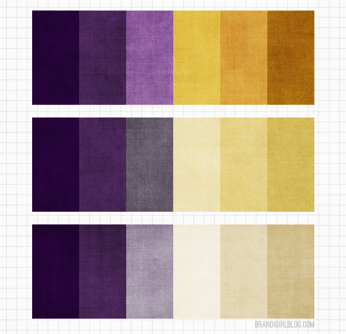 Gallery For Deep Purple Color Palette
