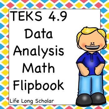 Data Analysis Math Flipbook Review Teks 4 9 Math Math
