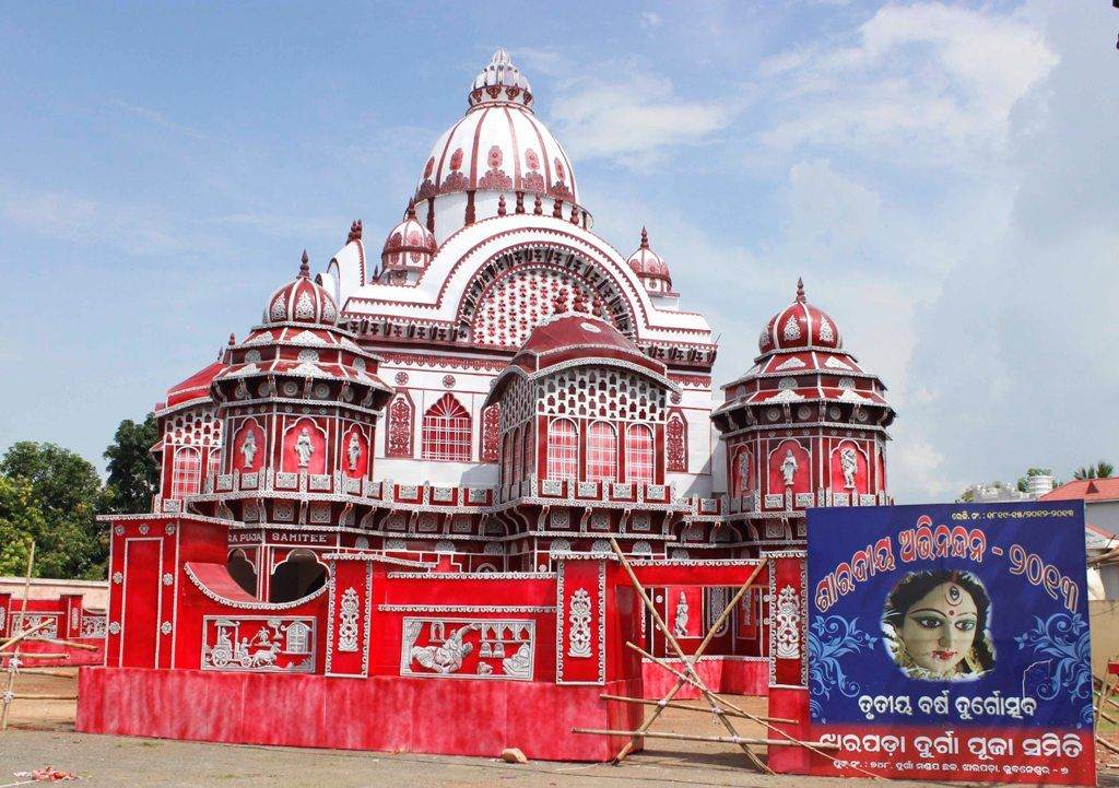 Jharpada durga puja pandal 2 namasta welcome to india the news insight has compiled the first pictures of durga puja pandals of jharpada and old station bazar altavistaventures Choice Image