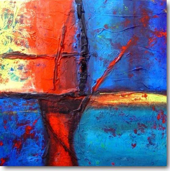 Abstract violin oil painting   When I grow up I want to be ...