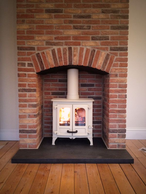Flooring Charming Wood Burning Fireplace Chimney Design With White