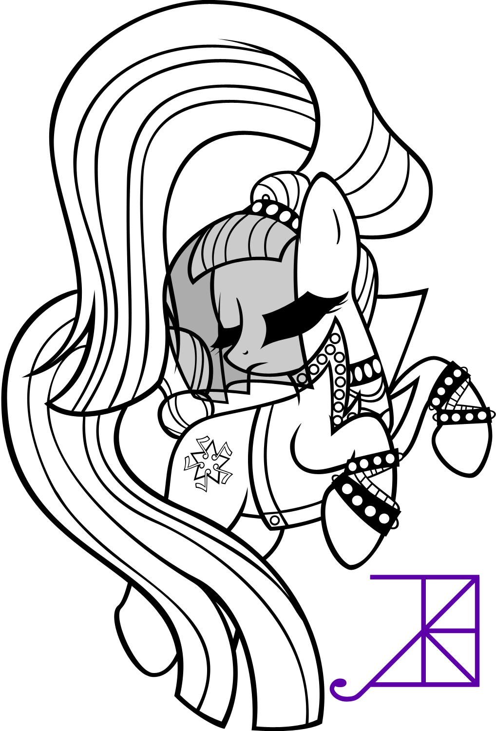 The Arrival Of Countess Coloratura My Little Pony Pinterest
