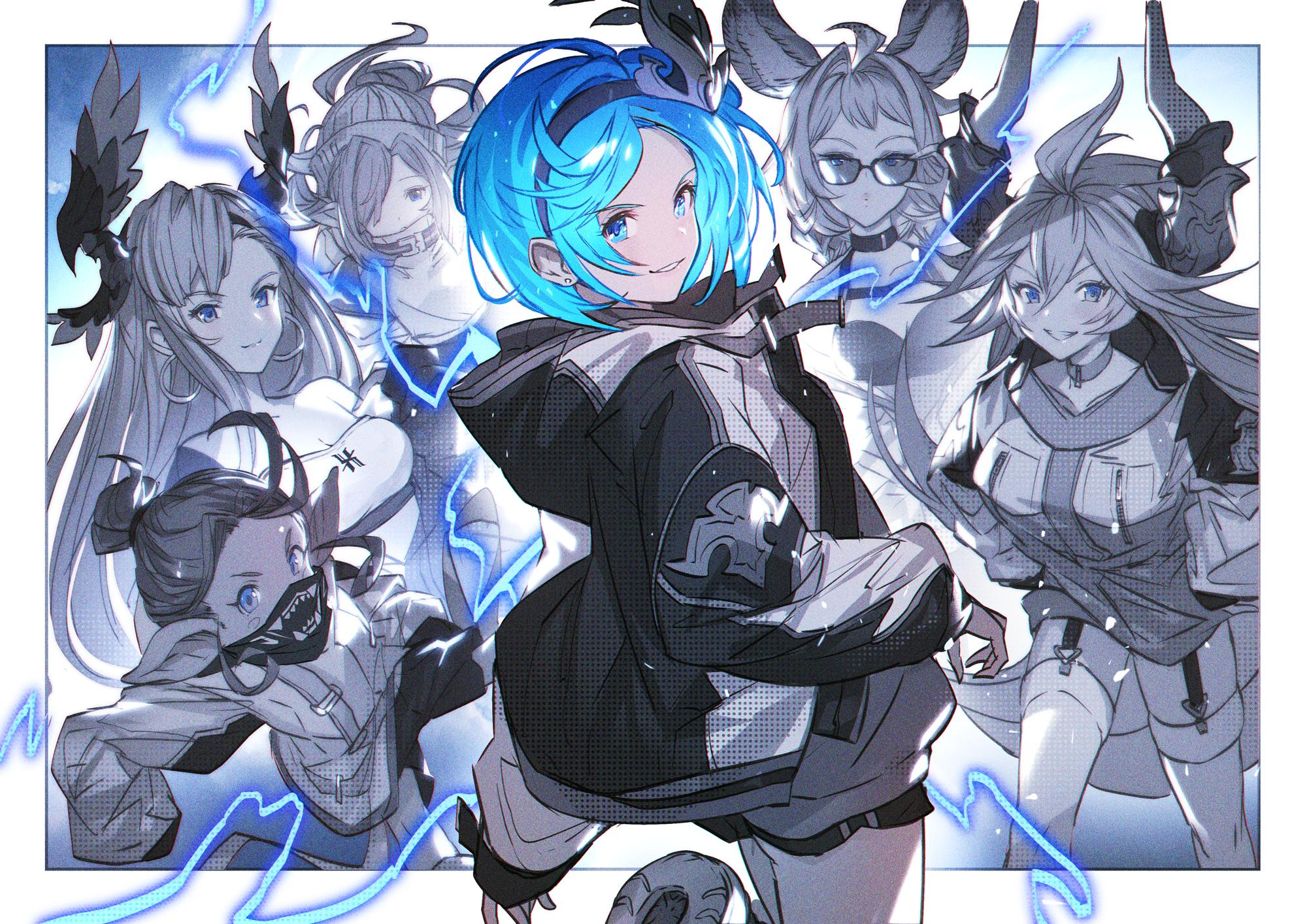 Pin oleh C J di グランブルーファンタジー di 2020 Seni anime, Seni