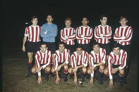 1968 Copa Libertadores Champions - Estudiantes of Argentina.