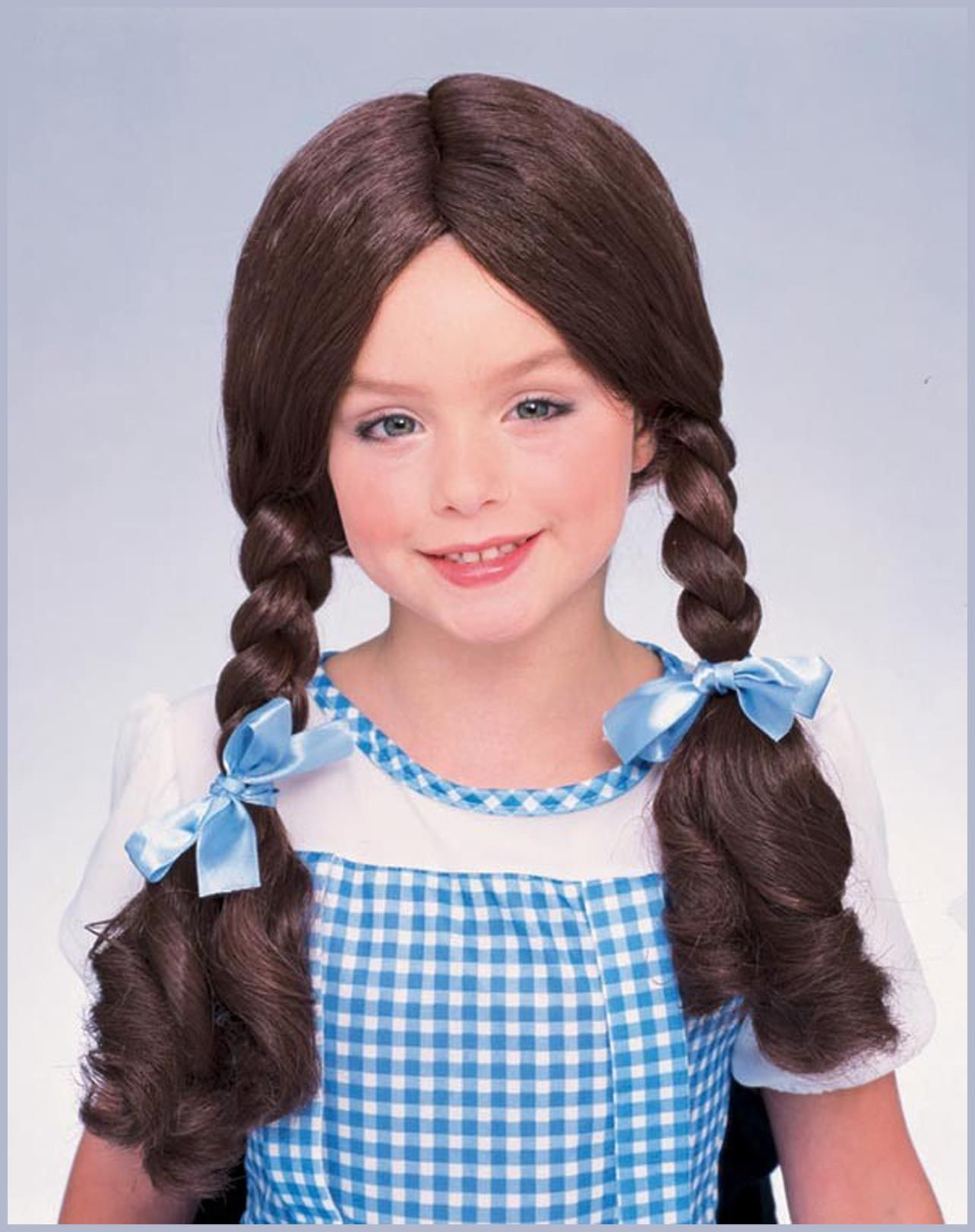 The Wizard Of Oz Dorothy Wig Partybell Com Kids Wigs Halloween Costume Wigs Dorothy Wizard Of Oz