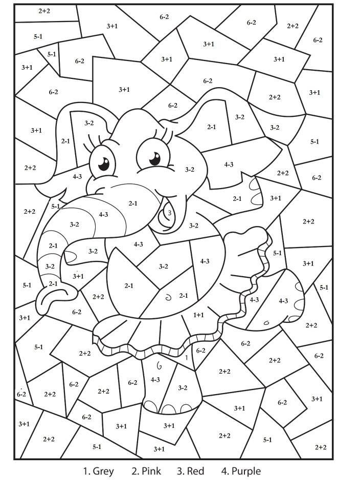 Colour By Maths Math Coloring Math Coloring Worksheets Addition Coloring Worksheet