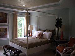 Cornerstone model master bedroom at Victory Lakes in Bristow, VA
