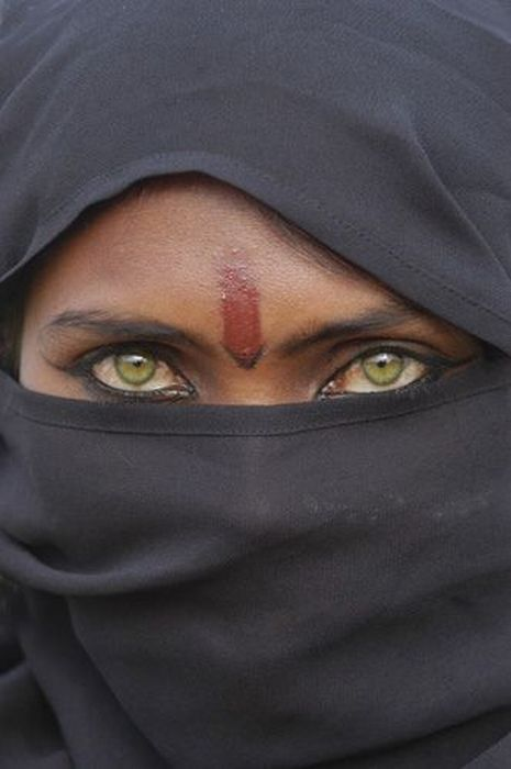 The eyes which has so much to say, so much to express. the expression of anger, hatred and even love