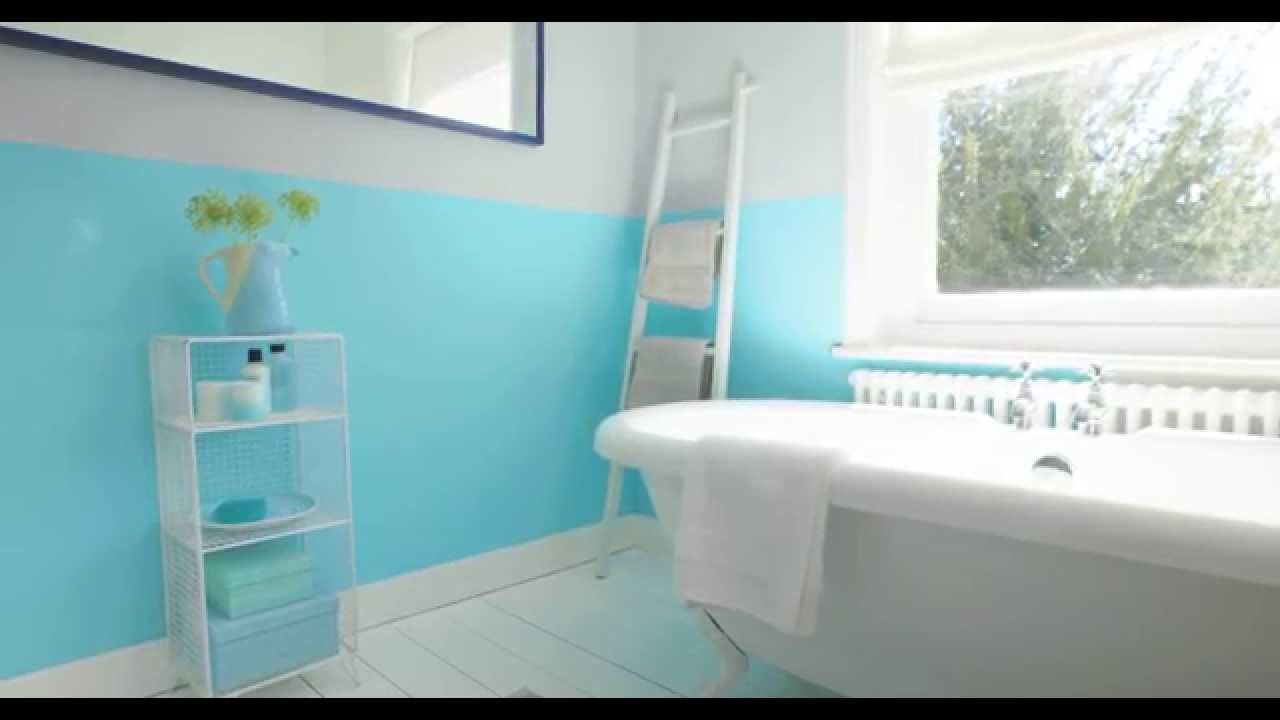 ordinary Blue Bathroom Wastebasket Part - 18: Bathroom Ideas: using aquamarine blue - Dulux. Navy Blue Bath Accessories.  34095546 Bathroom Wastebasket Sets. Bathroom Ideas
