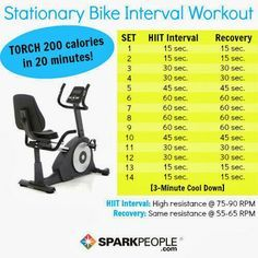 30 Day Stationary Bike Challenge Google Search Stationary Bike Workout Biking Workout Cycling Workout