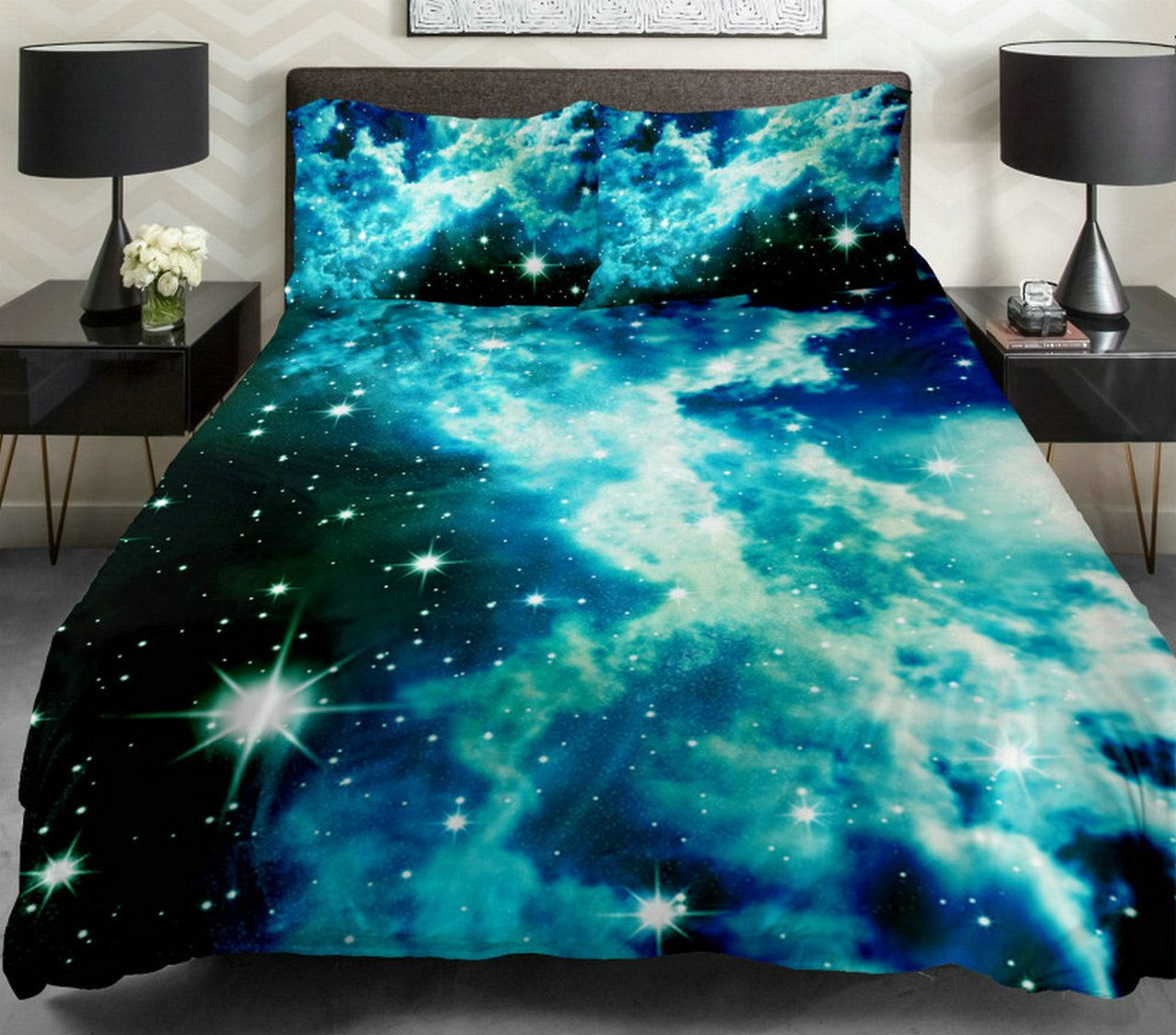 20 Wondrous Space Themed Bedroom Ideas You Should Try Space Bed