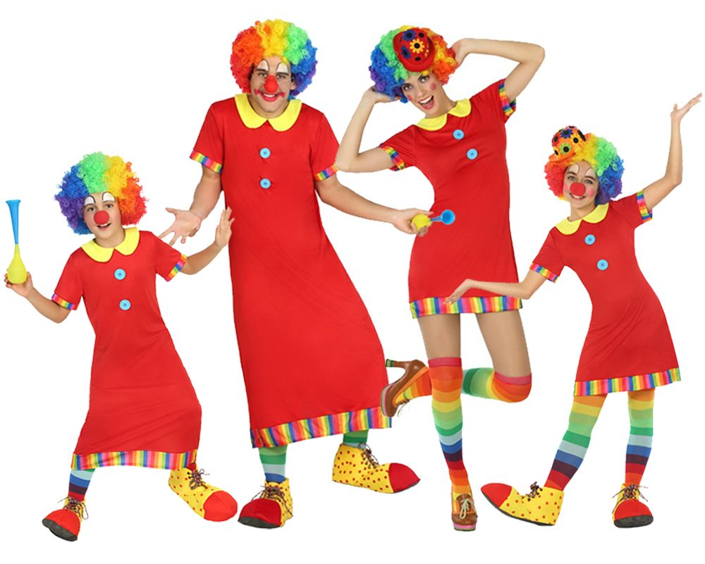 Grupo los payasos de la tele disfraces carnaval - Difraces para carnaval ...