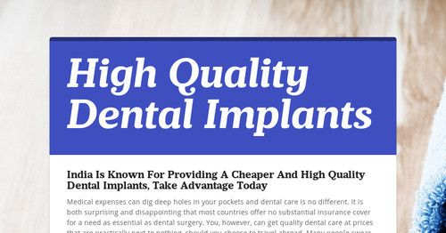 Medical Expenses Can Dig Deep Holes In Your Pockets And Dental