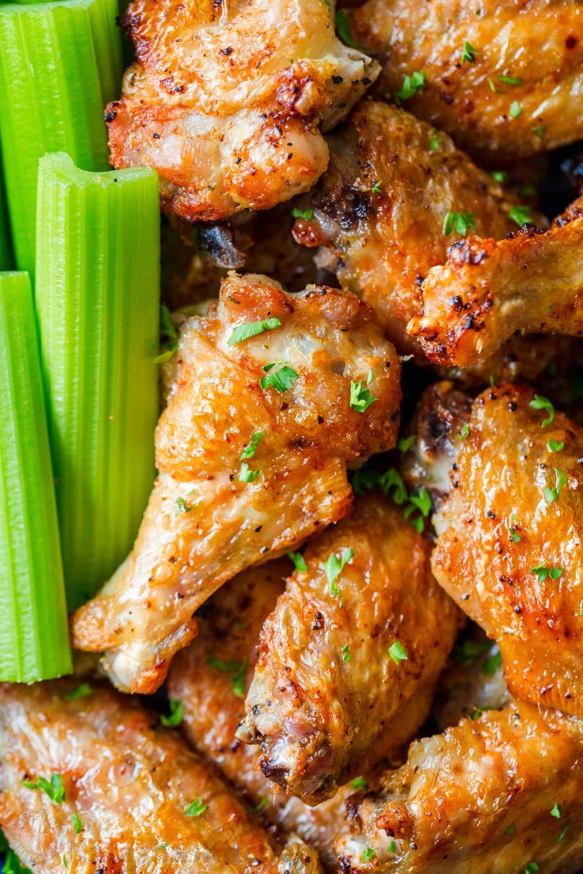 Air Fryer Chicken Wings With Crisp Salty Skin Perfectly Seasoned
