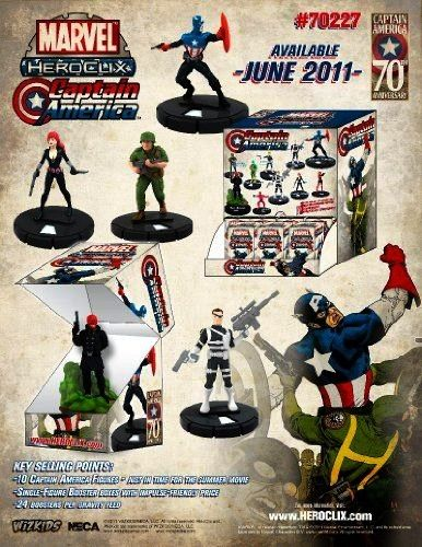 HeroClix Captain America Gravity Feed Box Marvel HeroClix Captain America Gravity Feed Box This would be crazy cool for The Anchor in my Inquisitor cosplay if I could fin...