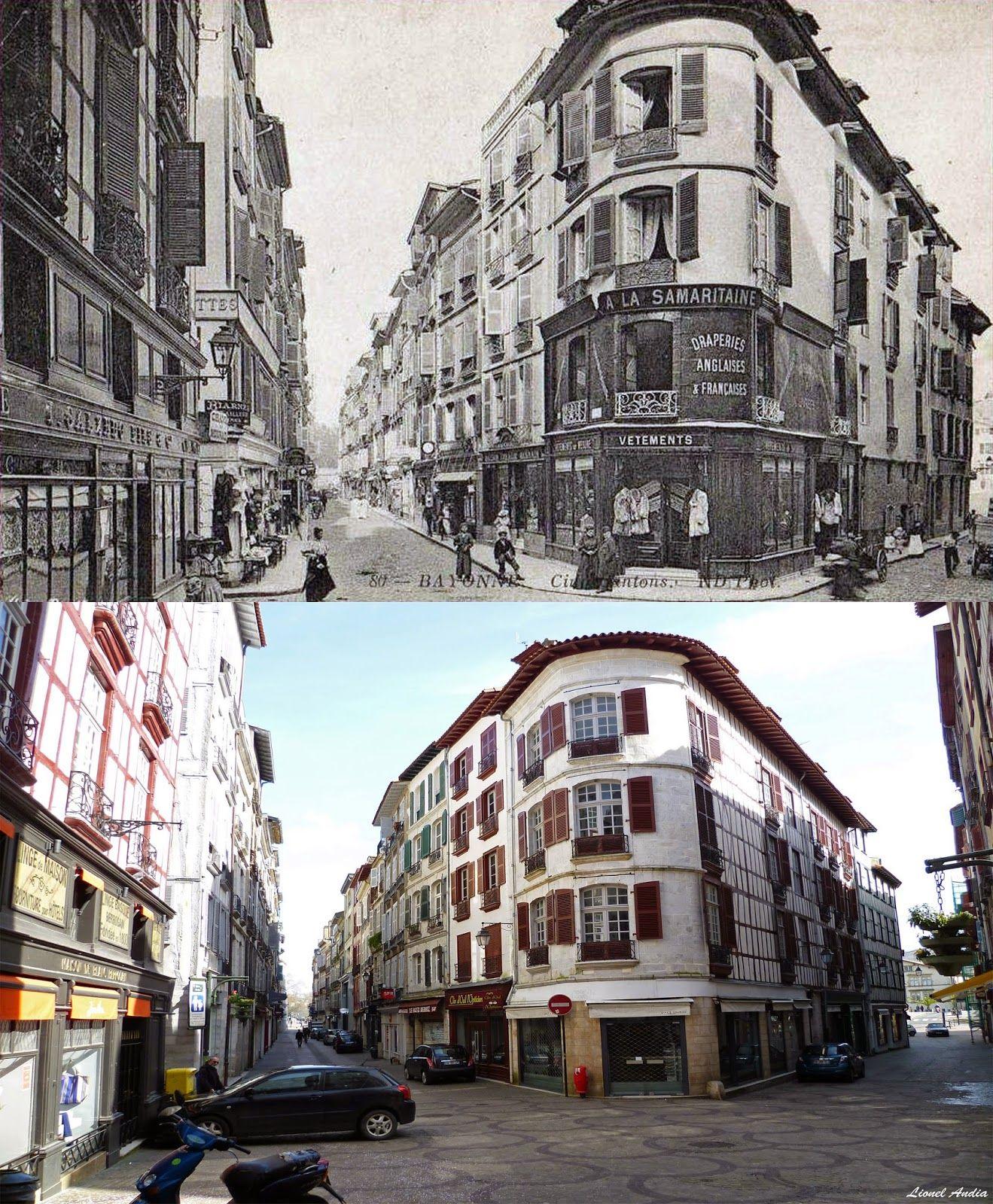 Bayonne Anglet Biarritz Autrefois La place des Cinq Cantons