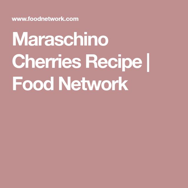Cherry Recipes, Food