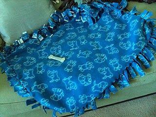 Dog blanket I made