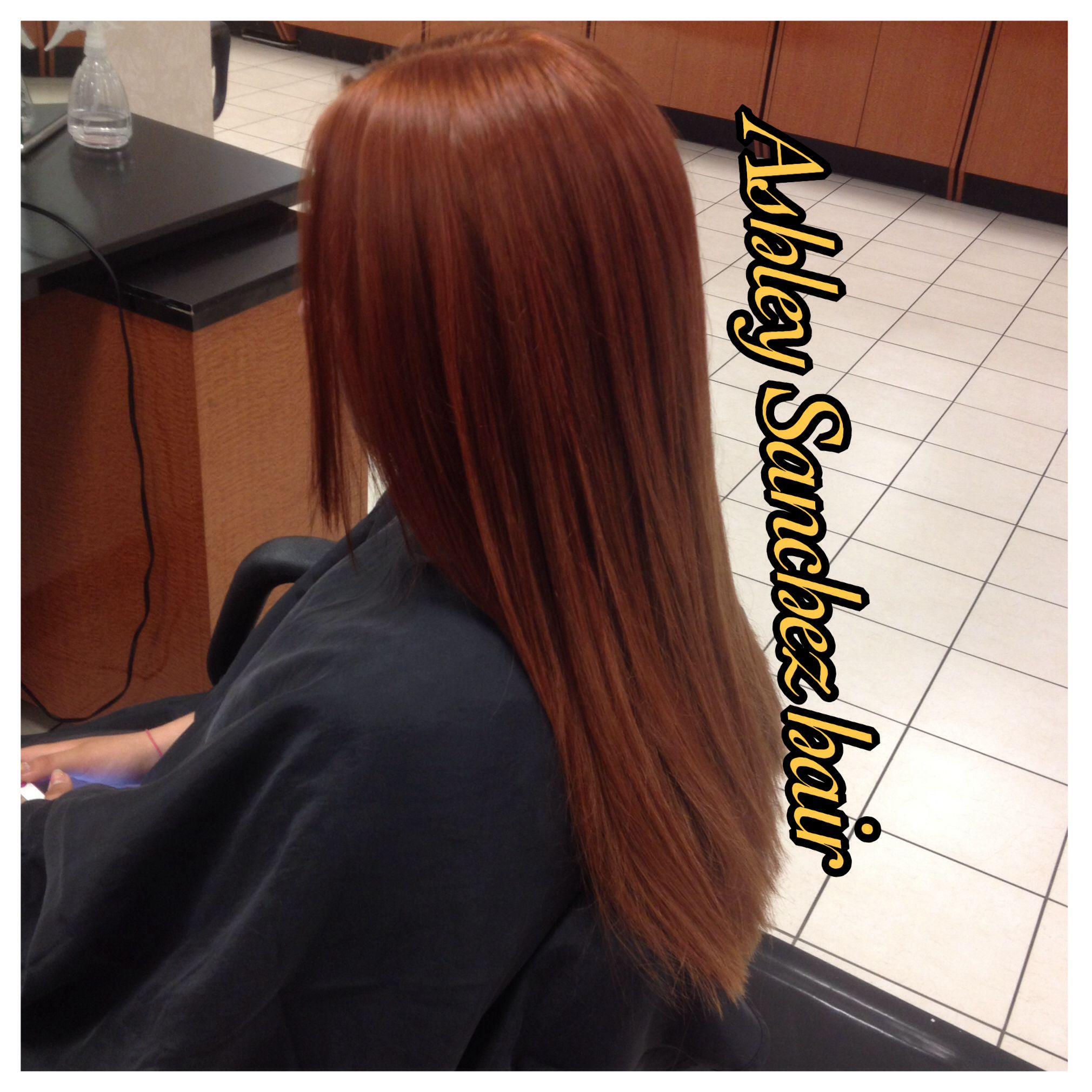 Red Hair Matrix Hair Color Instagramidohair559 Jcpenney Salon