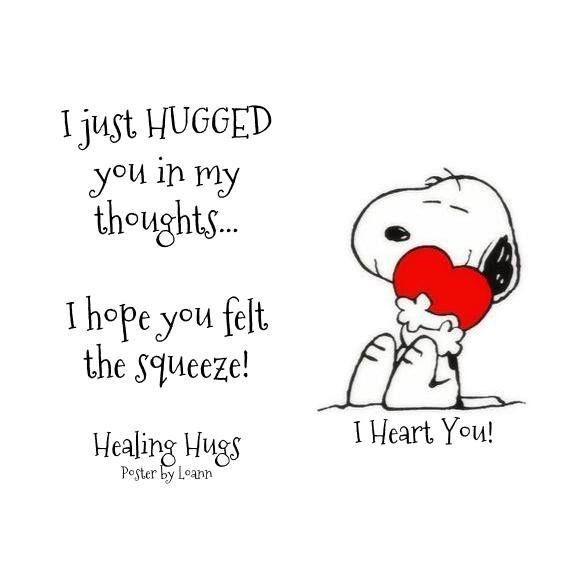 I miss our snuggle sessions so much | Hug quotes, Snoopy ...