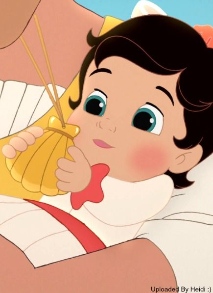 Baby Melody Receiving Her Locket For The First Time