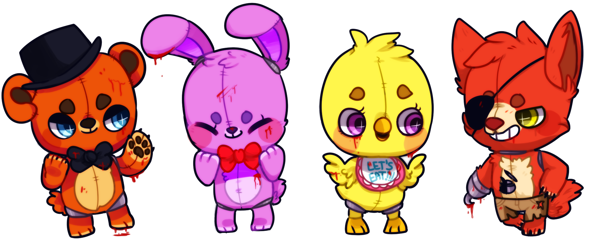 Five nights at freddy 39 s by on - Fnaf cute pictures ...