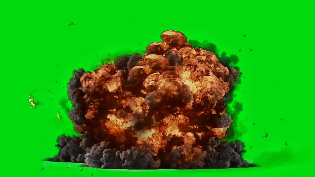 Best Explosion Green Screen Hd 1080p Download Link Green Screen Video Backgrounds Green Screen Backgrounds Green Background Video