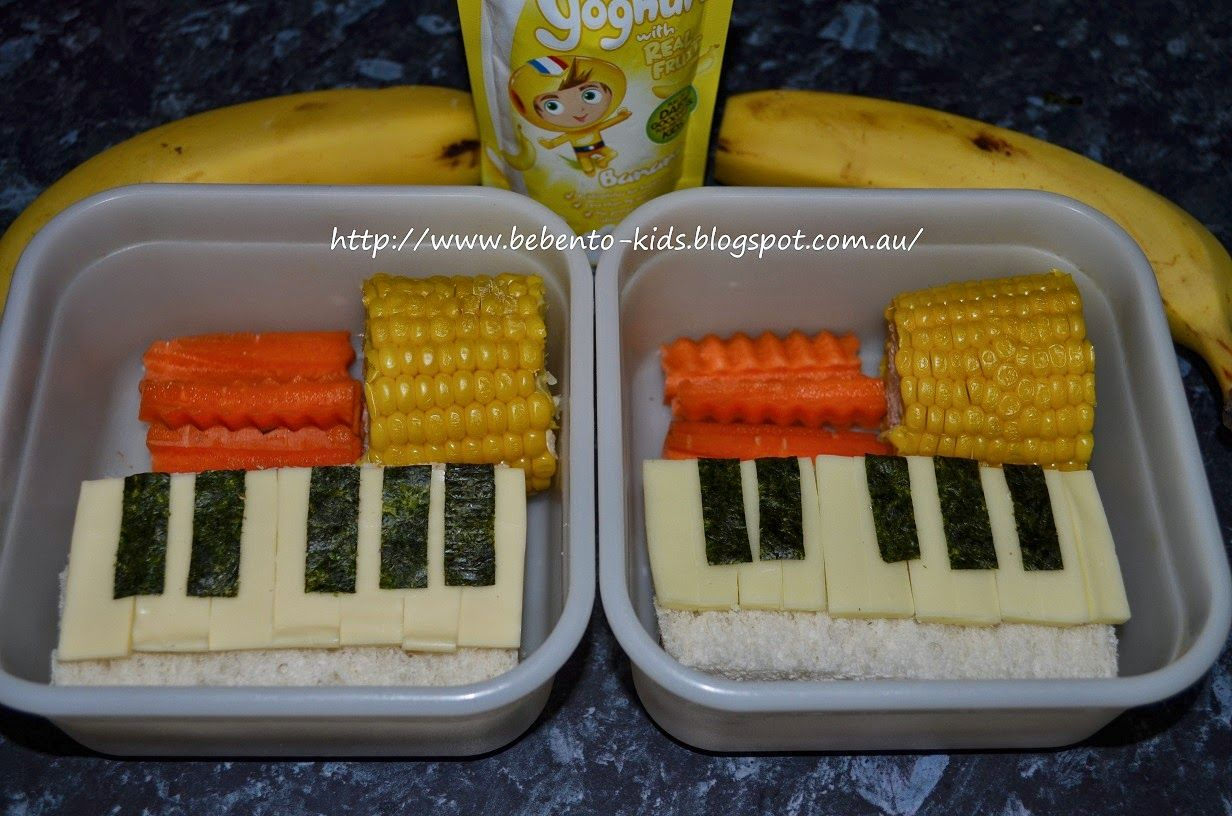 Bebento Kids Let's Play Piano Back to school lunch