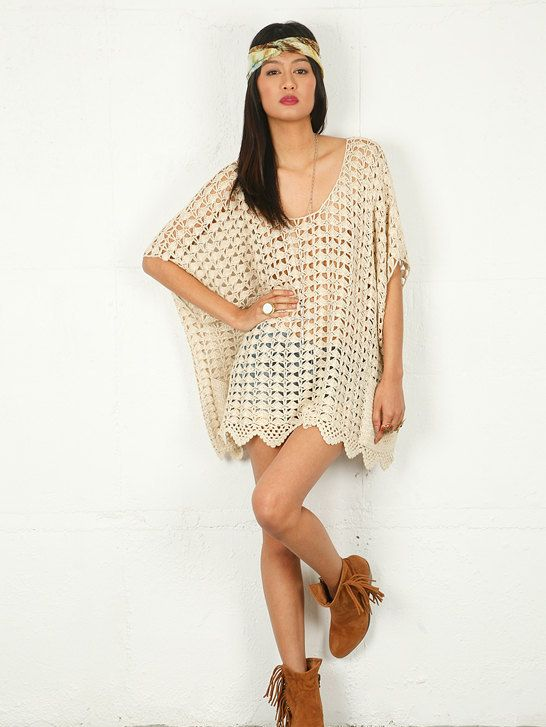 Amazing Knit Beach Cover Up Pattern Collection Sewing Ideas
