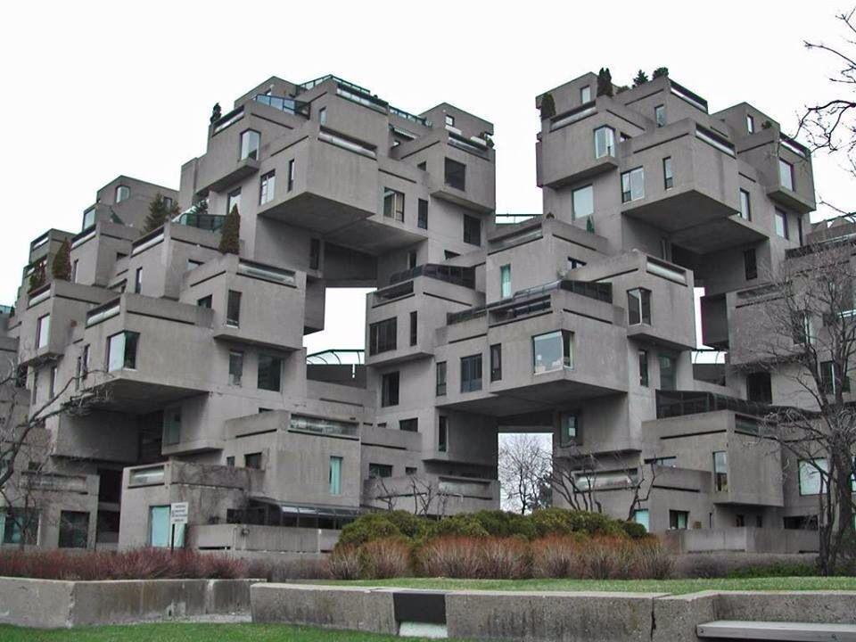Habitat 67 Montreal Canada Arquitectura Edificios Casas