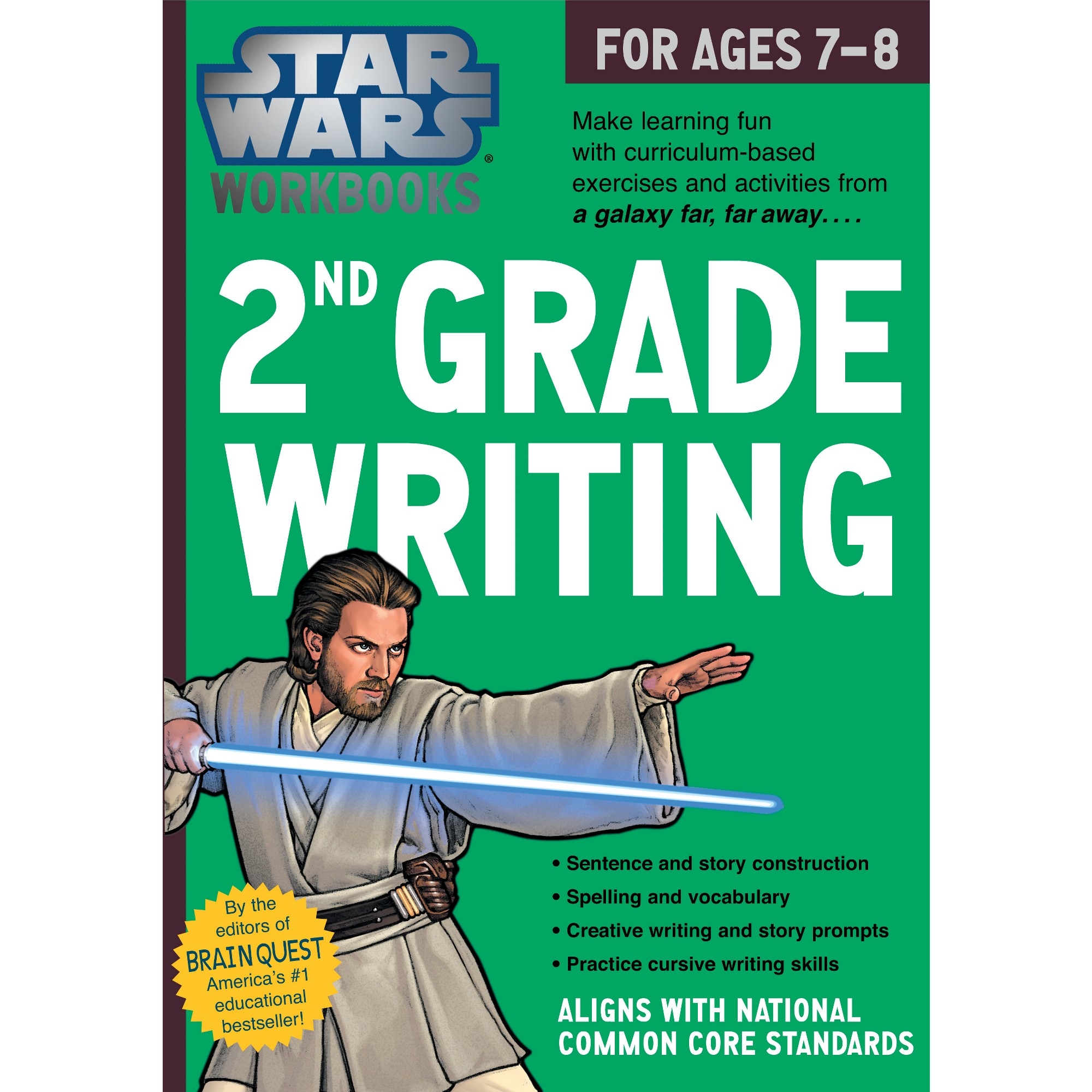 Star Wars 2nd Grade Writing For Ages 7 8 By Workman