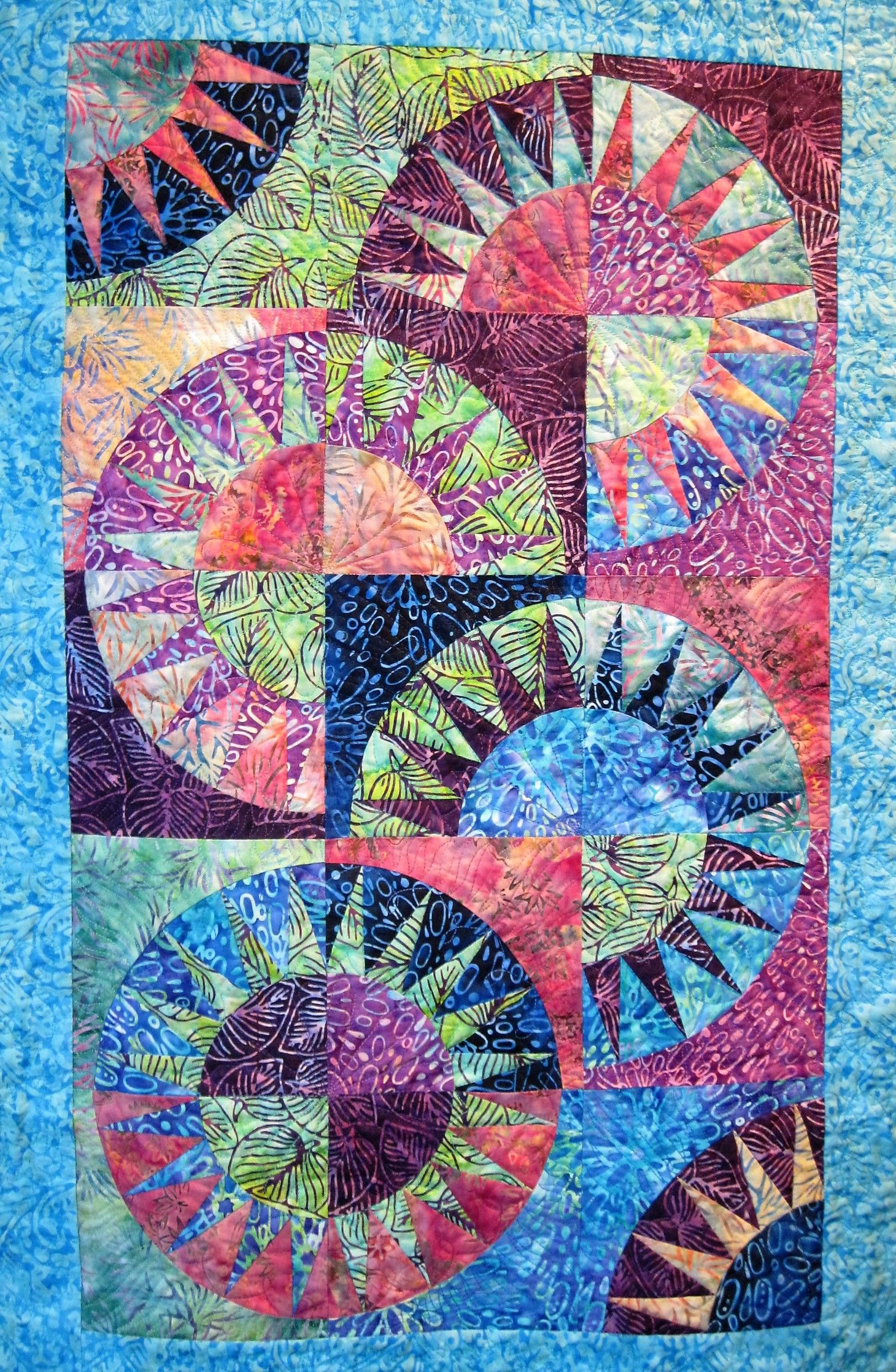 New York Beauty Finished New York Beauty Quilts Paper