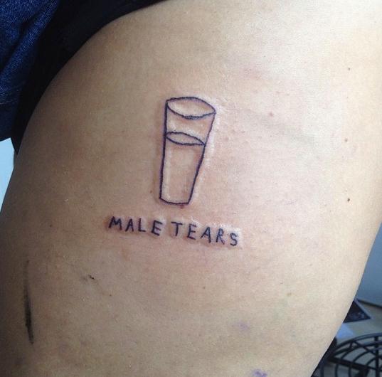 Bitch ink- Male tears